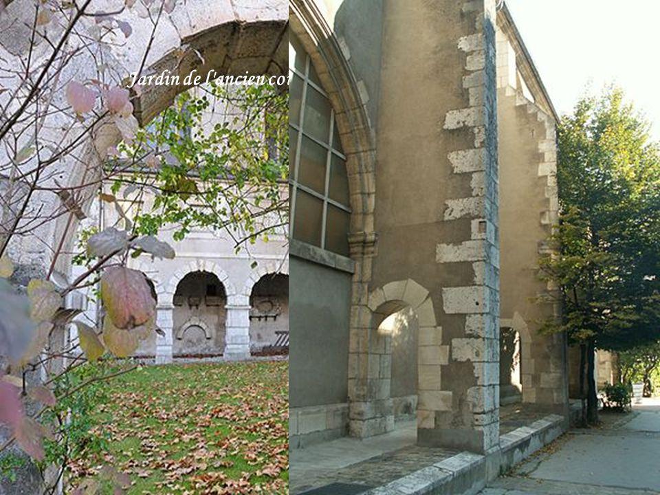 Jardin de l ancien couvent des Minimes