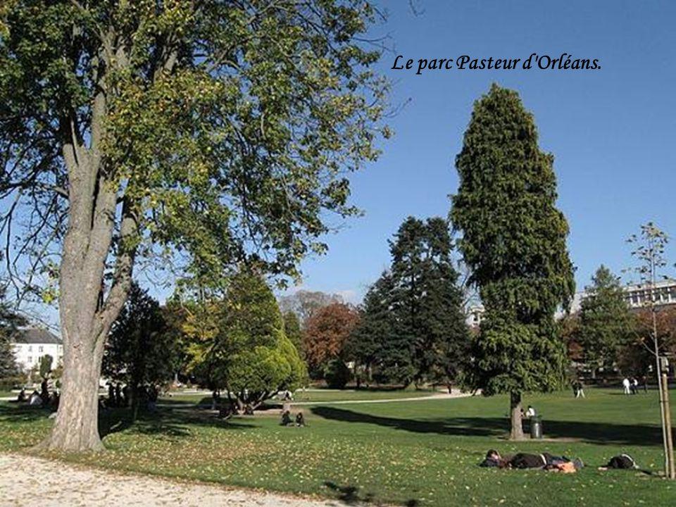 Le parc Pasteur d Orléans.