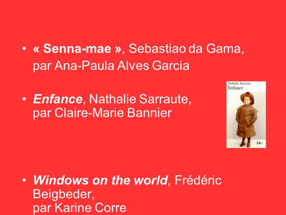 « Senna-mae », Sebastiao da Gama,