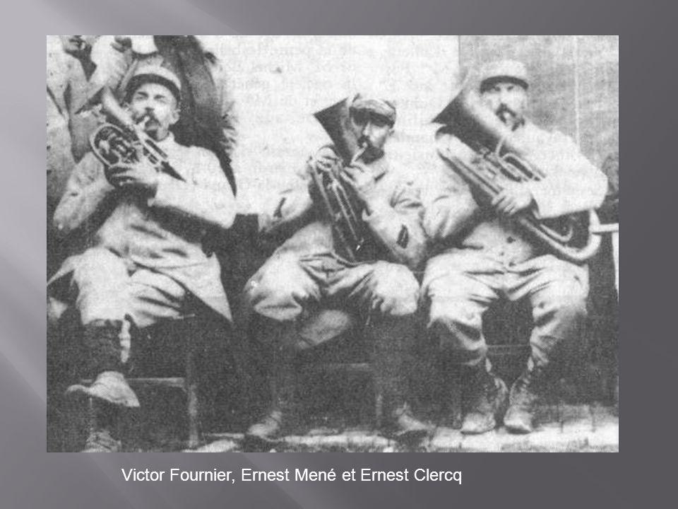 Victor Fournier, Ernest Mené et Ernest Clercq