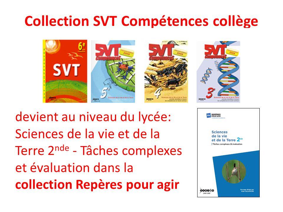 Collection SVT Compétences collège