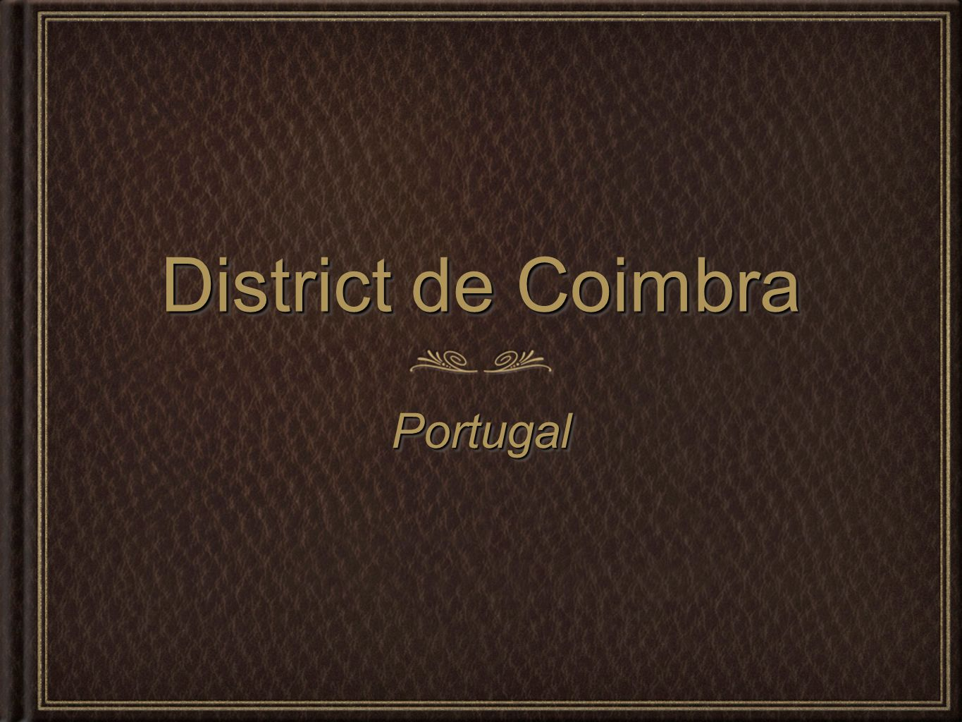 District de Coimbra Portugal