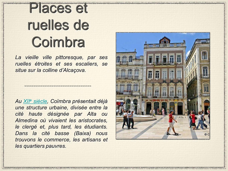 Places et ruelles de Coimbra