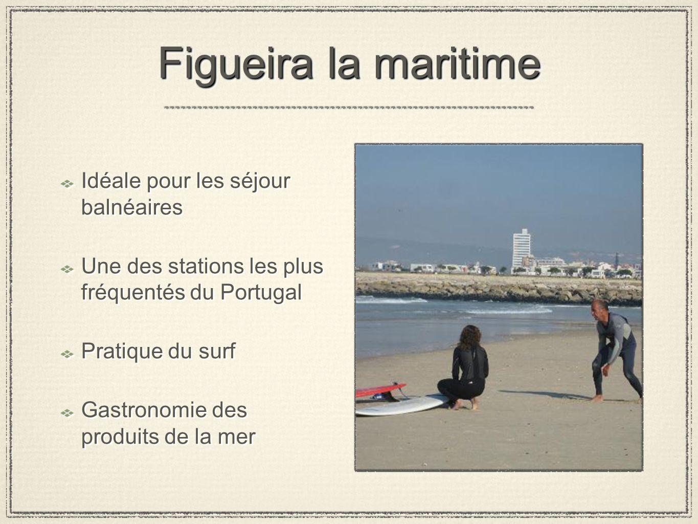 Figueira la maritime Idéale pour les séjour balnéaires