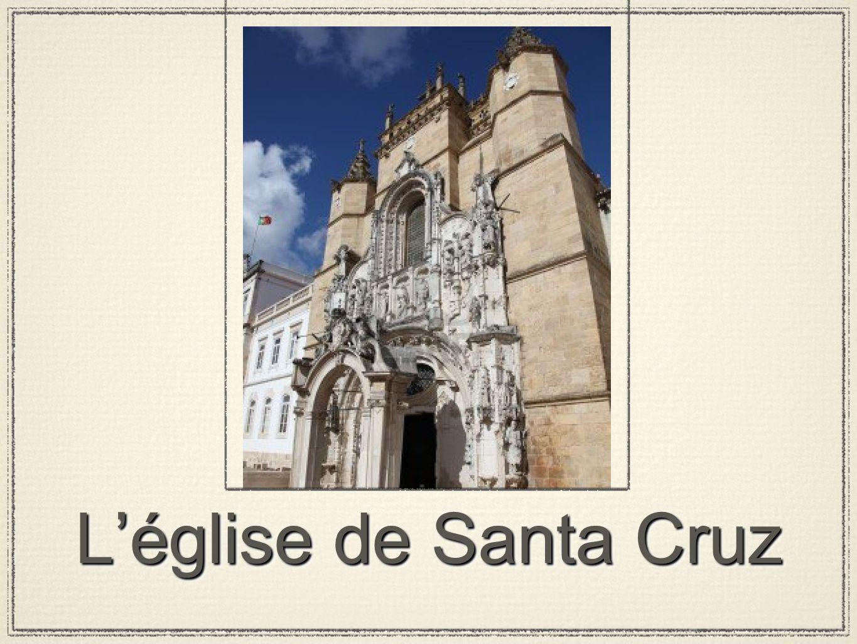 L'église de Santa Cruz