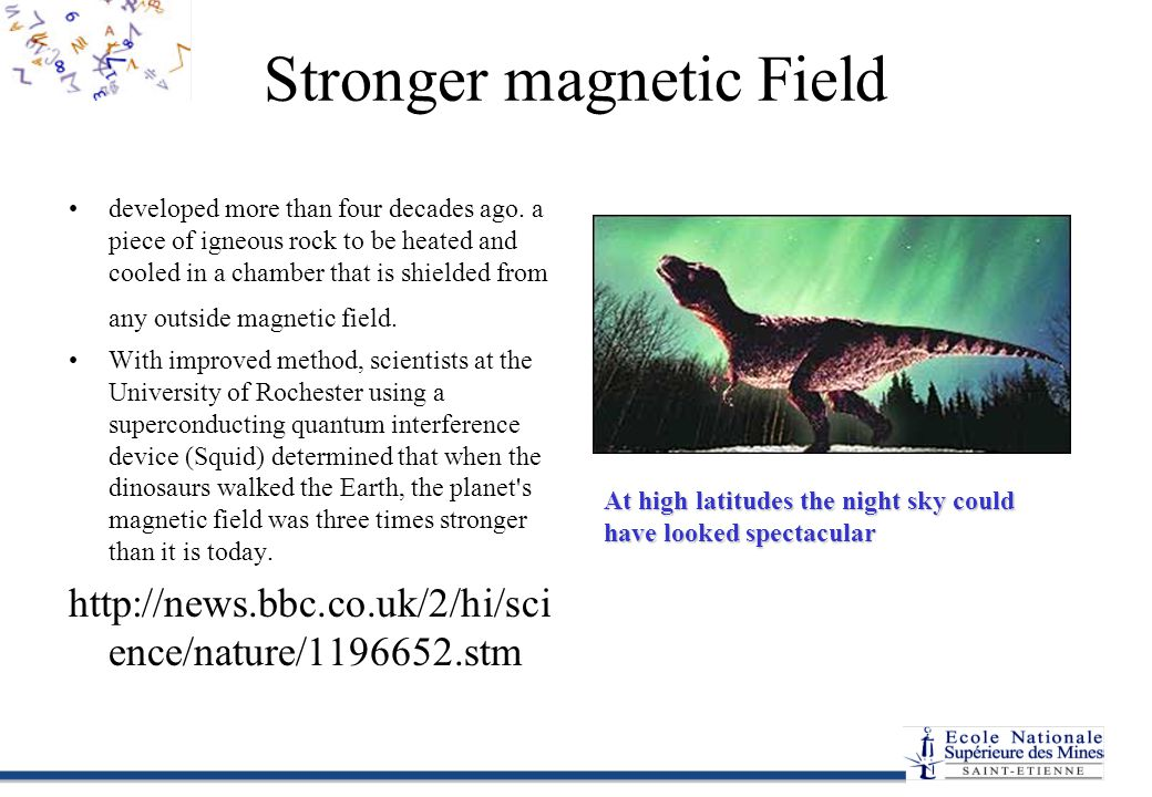 Stronger magnetic Field