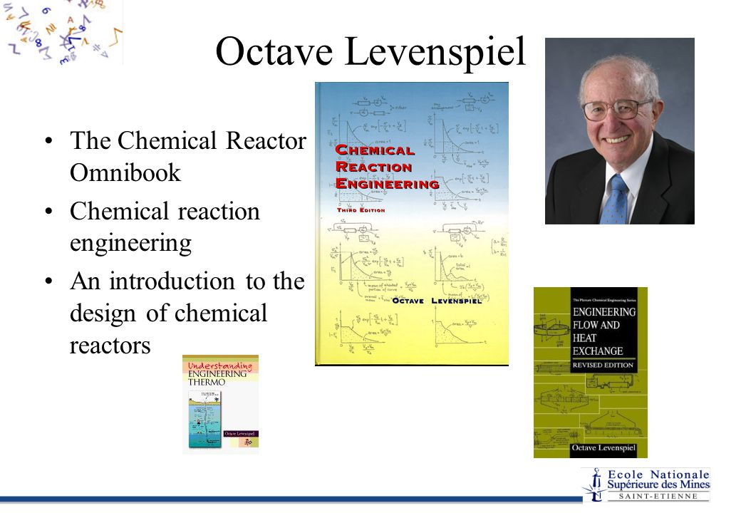 Octave Levenspiel The Chemical Reactor Omnibook