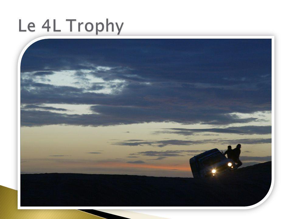 Un défi sportif Le 4L Trophy Benj