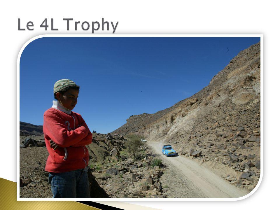 Un dépaysement Le 4L Trophy Benj