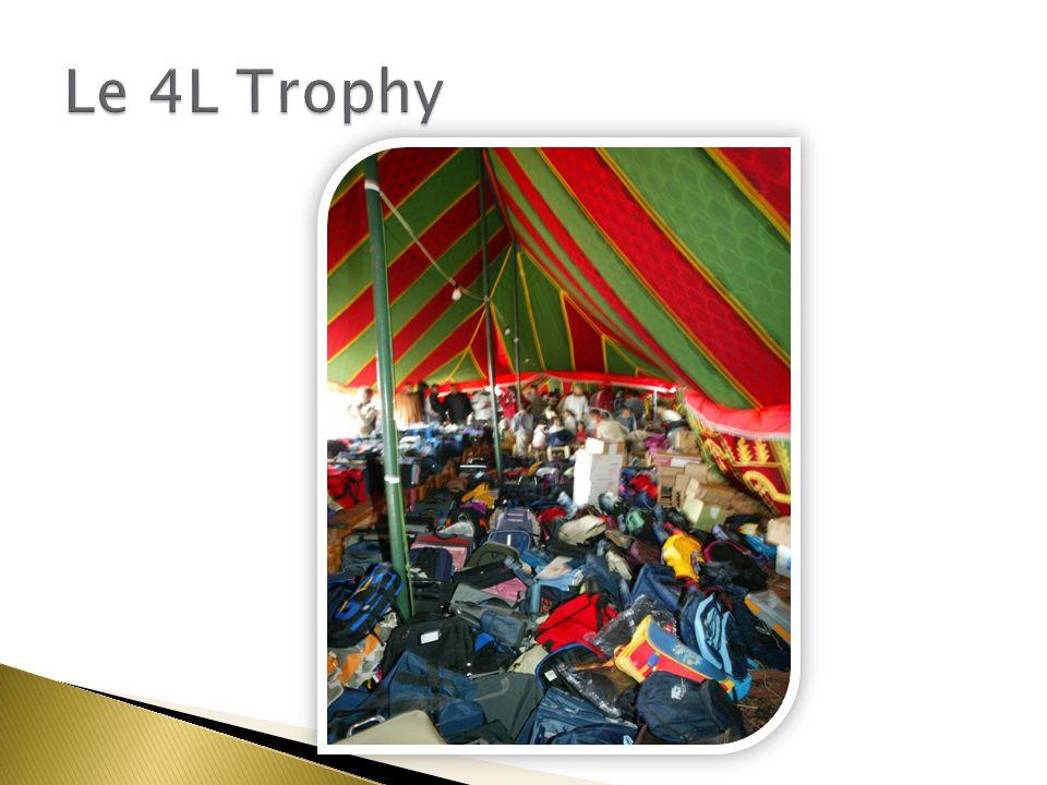 Une solidarité Le 4L Trophy Benj