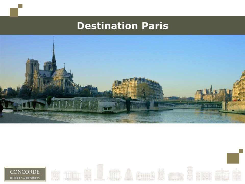 Destination Paris Toujours conserver un espace minimum à gauche (limite des carrés en haut à gauche) pour une éventuelle reliure.