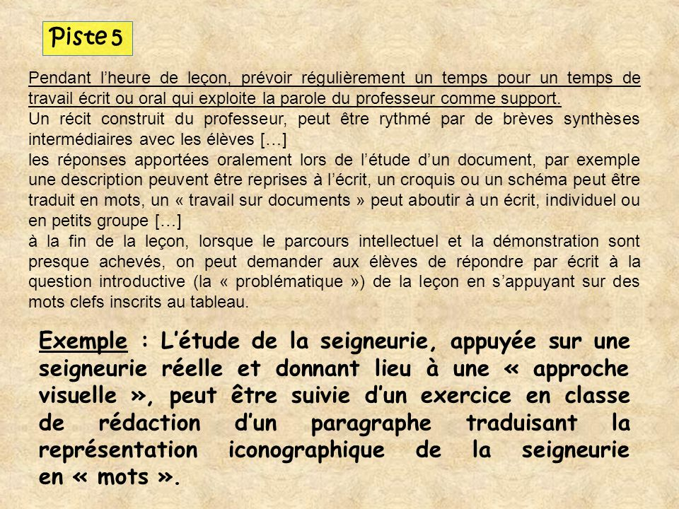 Piste 5