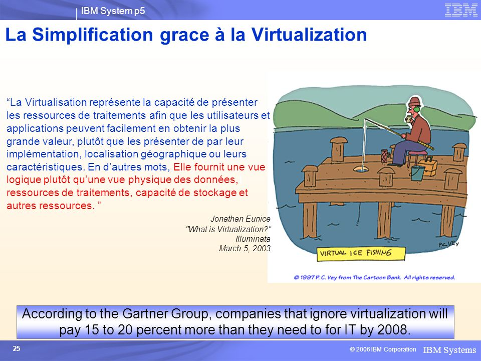 La Simplification grace à la Virtualization