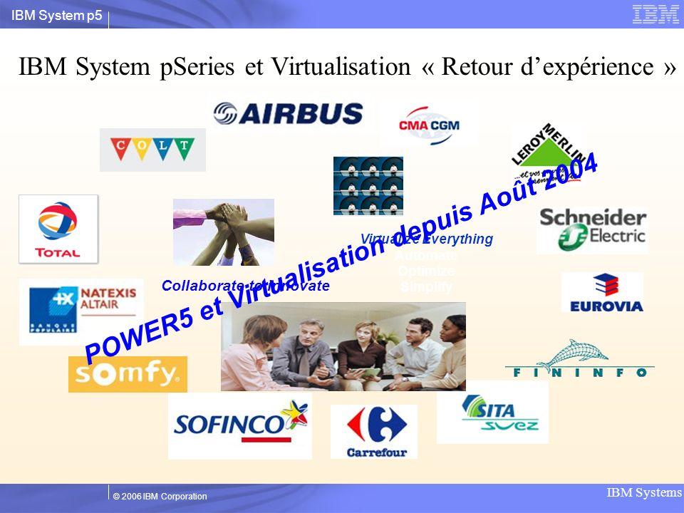 POWER5 et Virtualisation depuis Août 2004