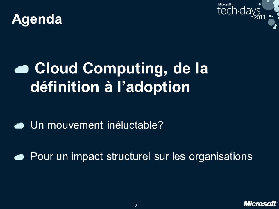 Cloud Computing, de la définition à l'adoption