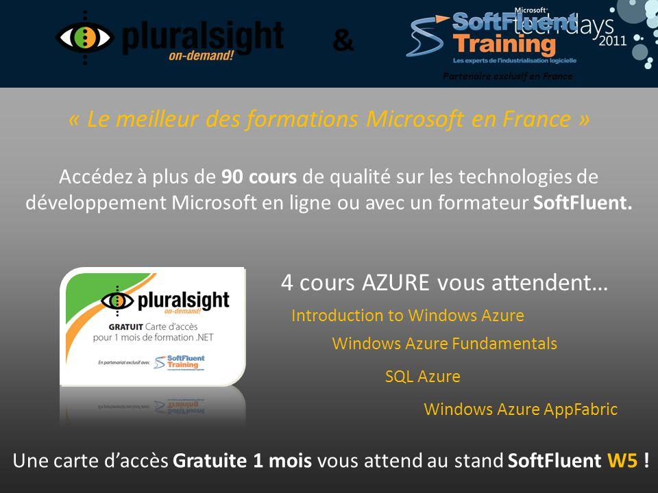 « Le meilleur des formations Microsoft en France »