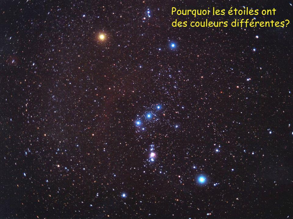 Pourquoi les étoiles ont