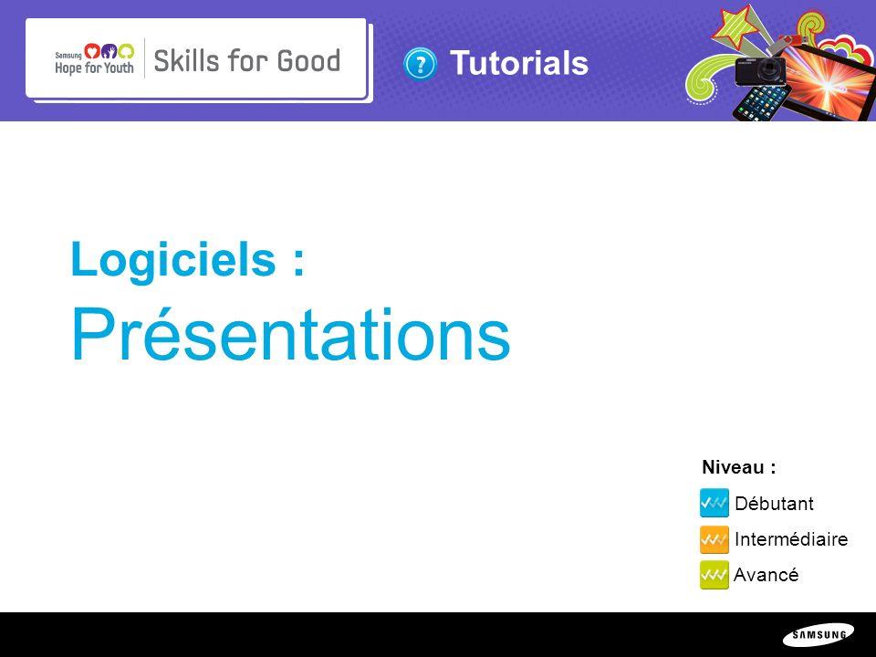 Logiciels : Présentations