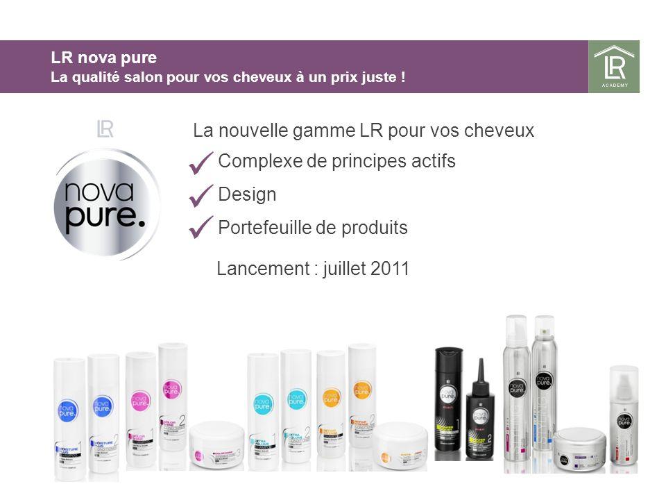 La nouvelle gamme LR pour vos cheveux Complexe de principes actifs