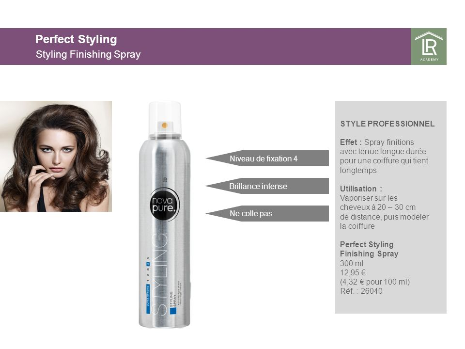 Perfect Styling Styling Finishing Spray 25.03.2017 25.03.2017