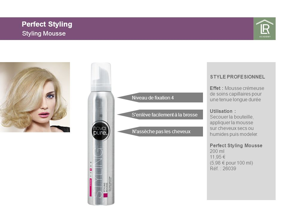 Perfect Styling Styling Mousse 25.03.2017 25.03.2017