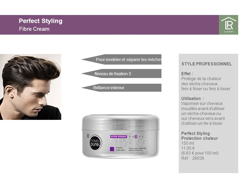 Perfect Styling Fibre Cream 25.03.2017 25.03.2017