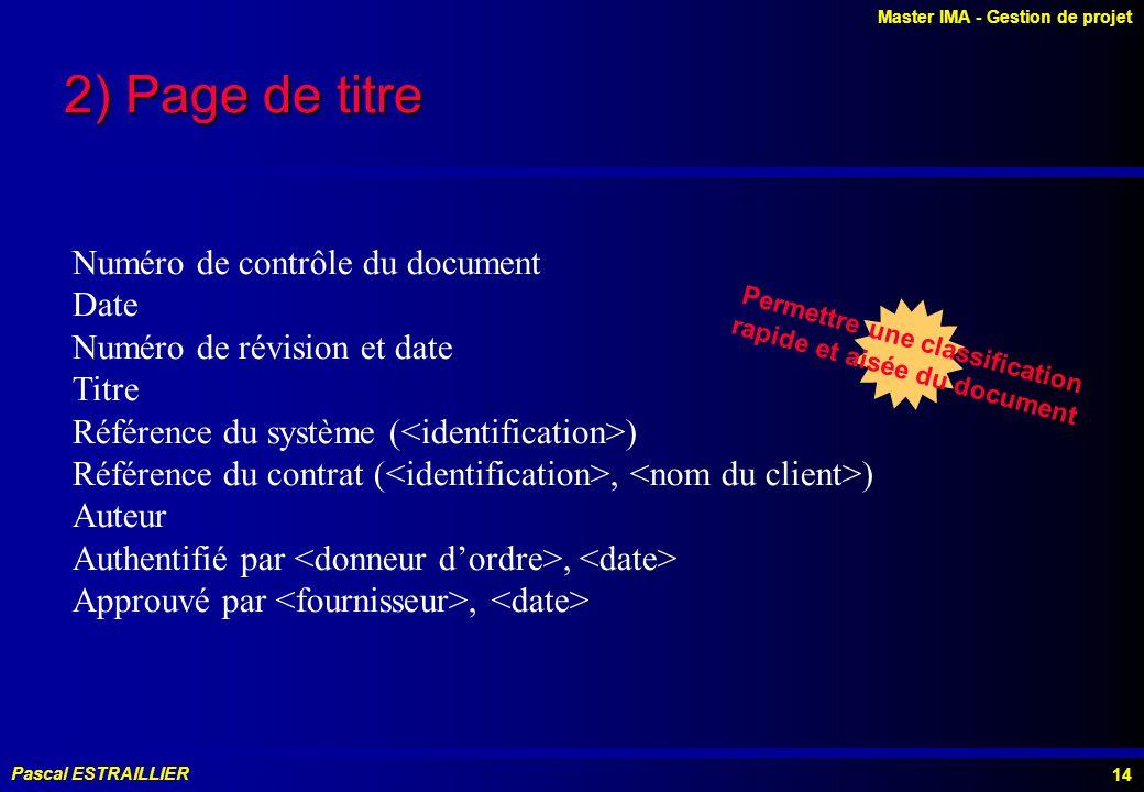 Permettre une classification rapide et aisée du document