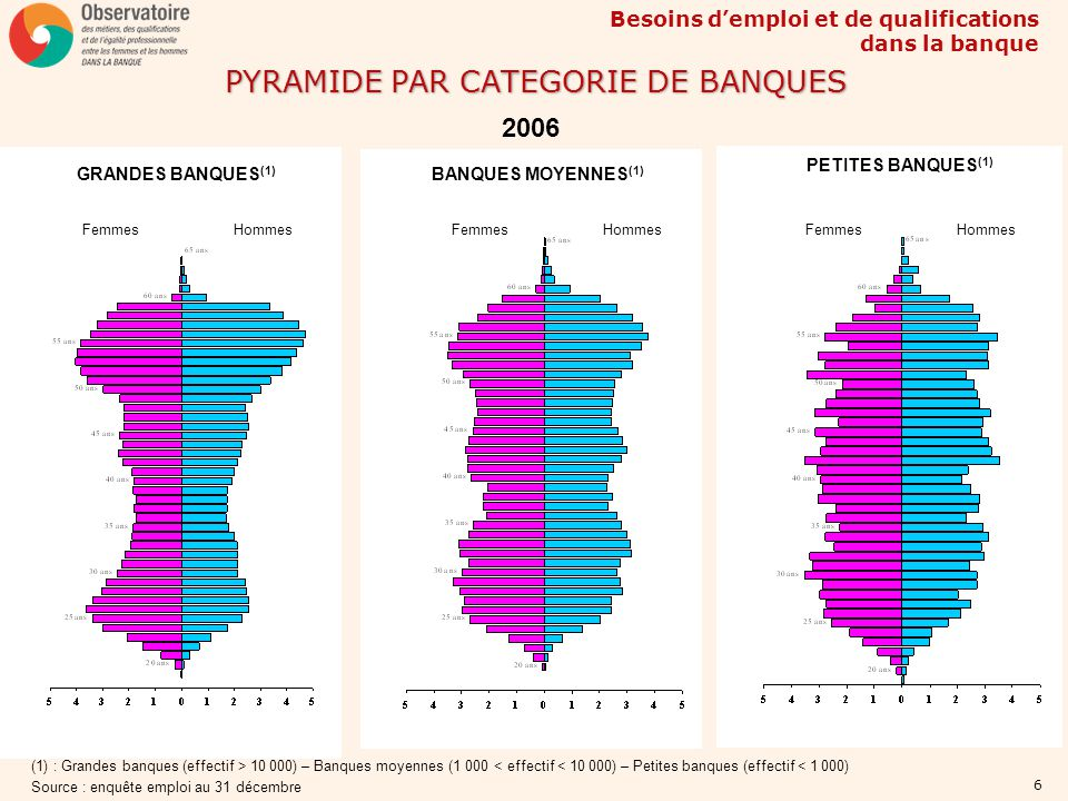 PYRAMIDE PAR CATEGORIE DE BANQUES