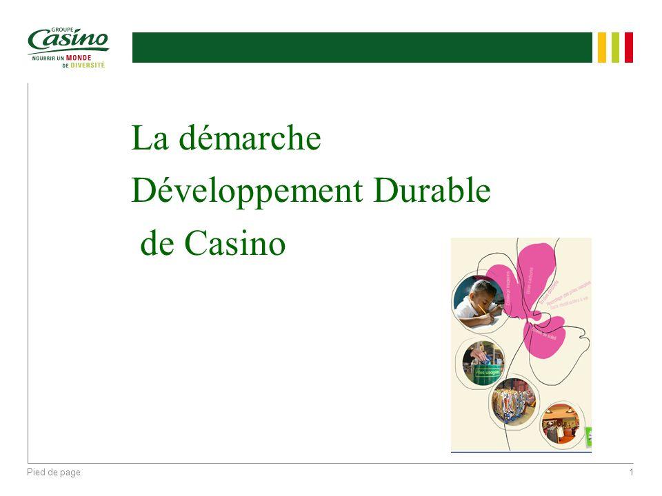 Développement Durable de Casino