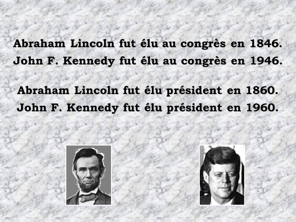 Abraham Lincoln fut élu au congrès en 1846.