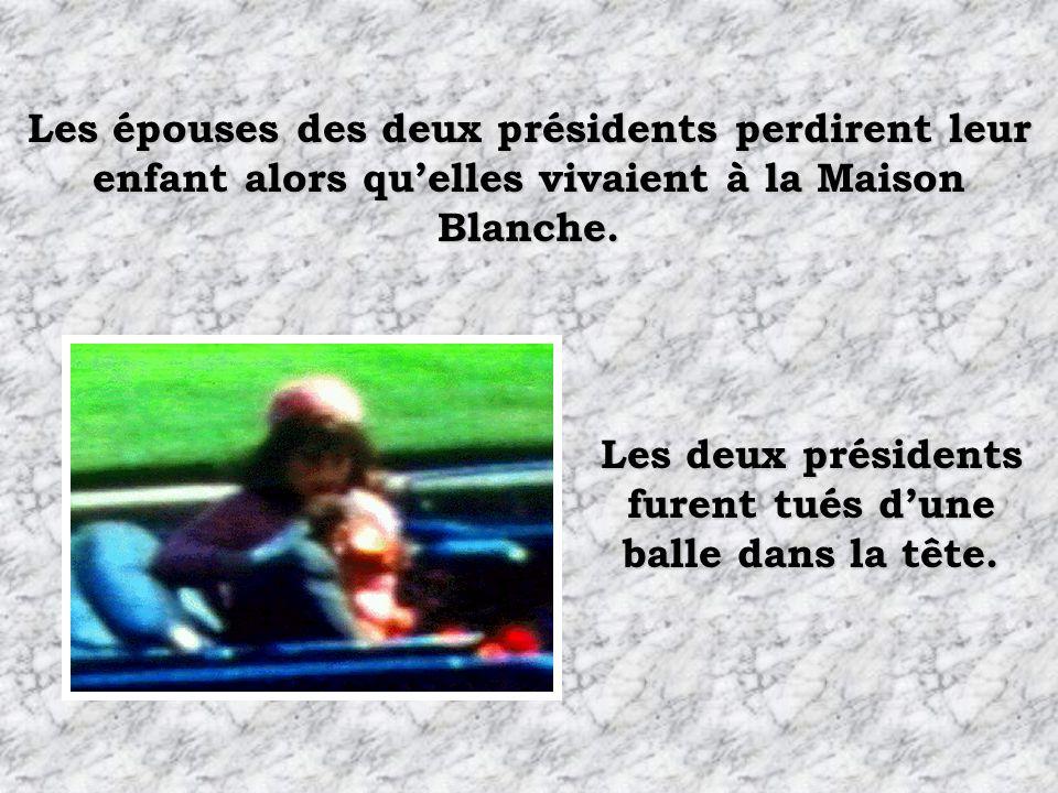 Les deux présidents furent tués d'une balle dans la tête.