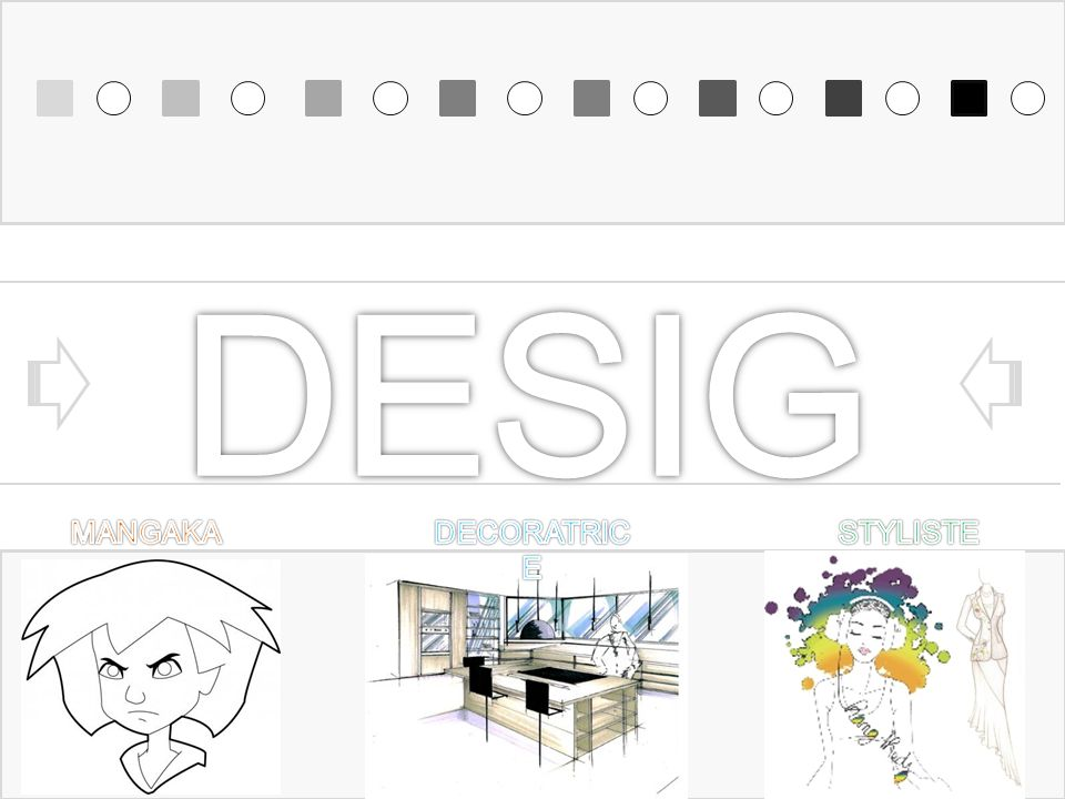 DESIGN MANGAKA DECORATRICE STYLISTE