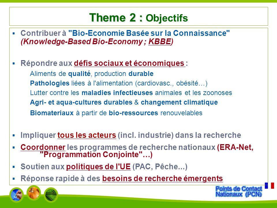 Journée d information 7e PCRD Atelier Alimentation, Agriculture & Pêche, Biotechnologie