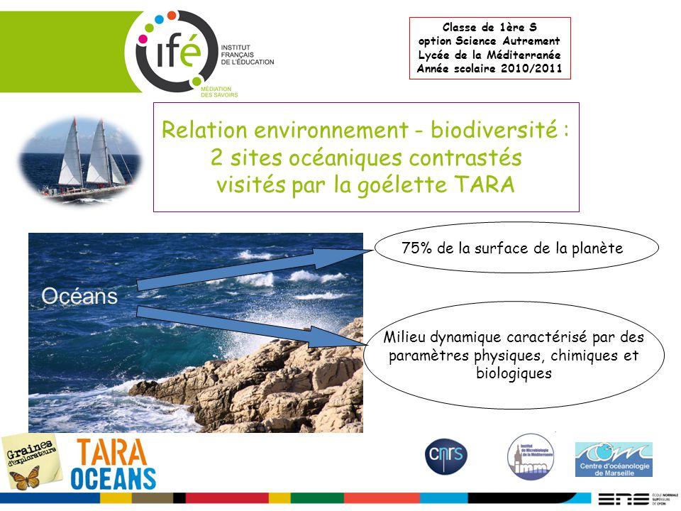 option Science Autrement Lycée de la Méditerranée
