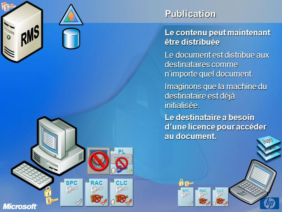 App RMS Client OS Publication