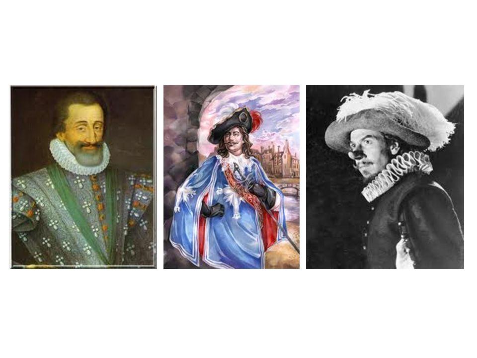 Henry IV D'artagnan Cyrano de bergerac