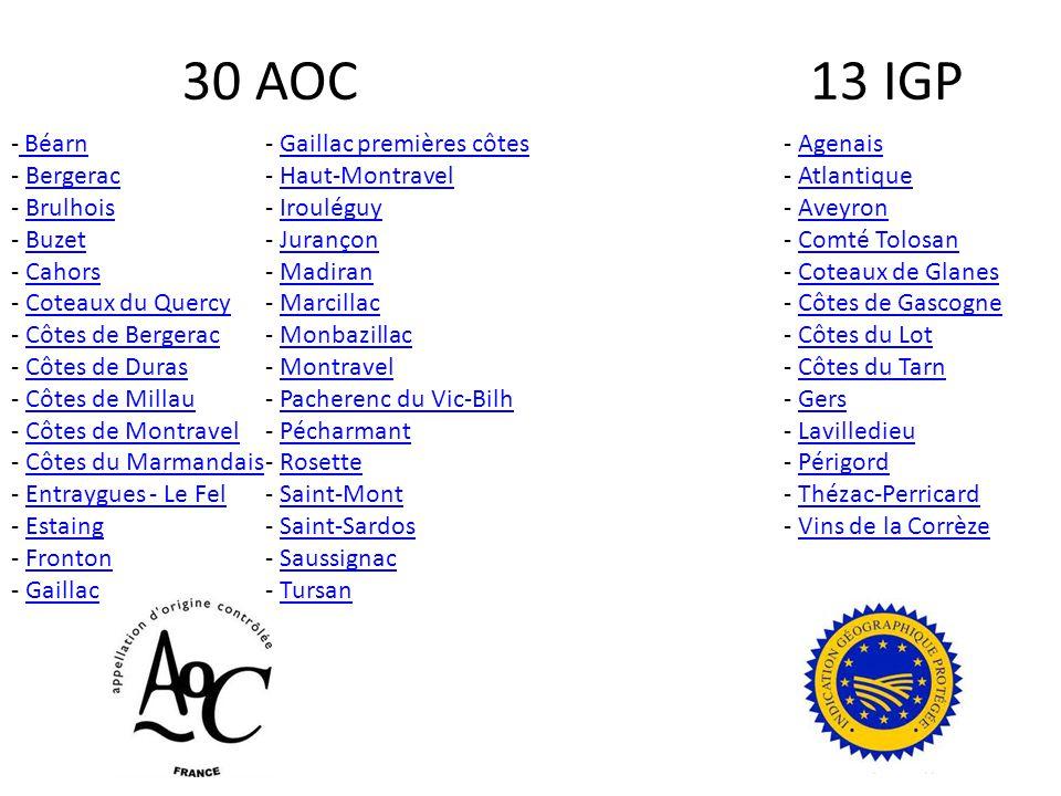 30 AOC 13 IGP