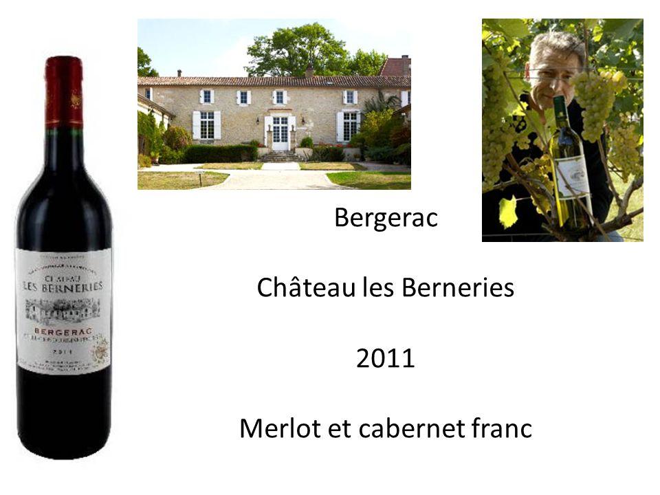Merlot et cabernet franc