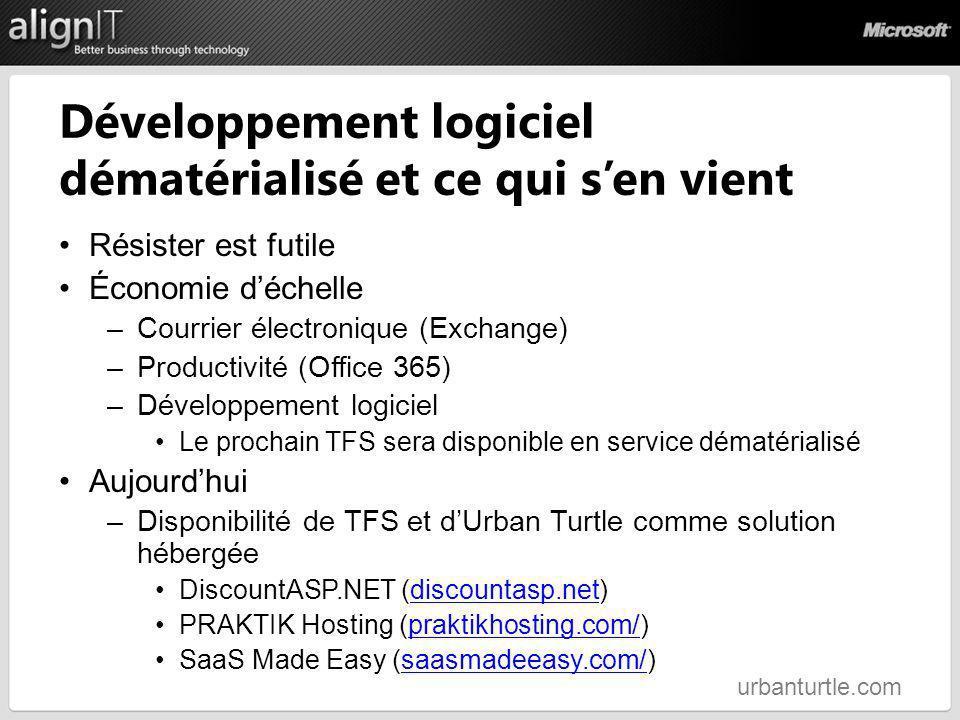 Développement logiciel dématérialisé et ce qui s'en vient