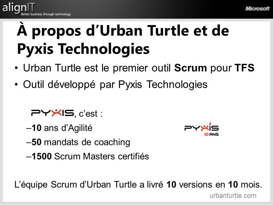 À propos d'Urban Turtle et de Pyxis Technologies