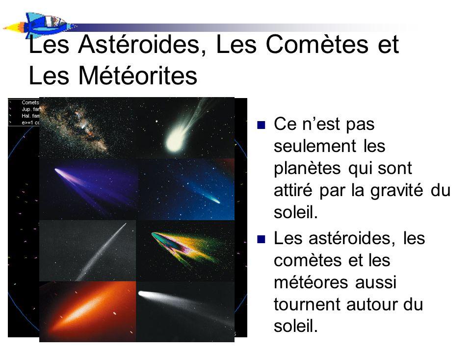 Les Astéroides, Les Comètes et Les Météorites