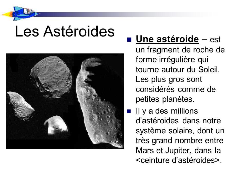 Les Astéroides