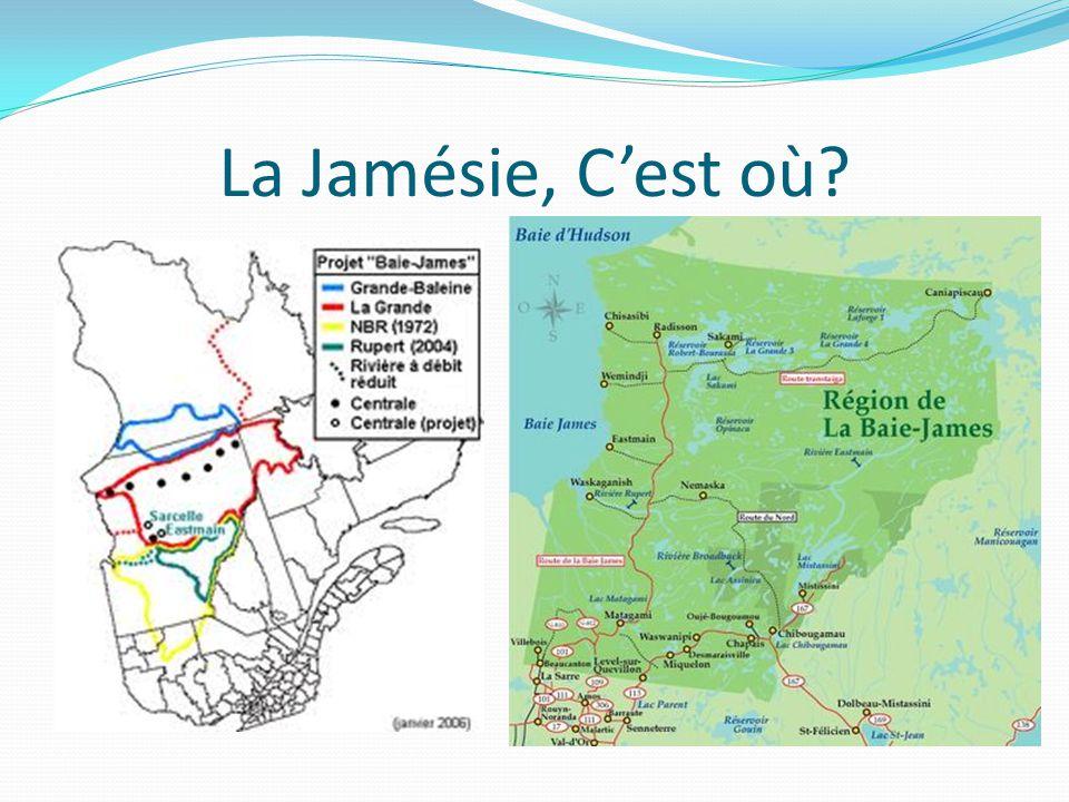 La Jamésie, C'est où