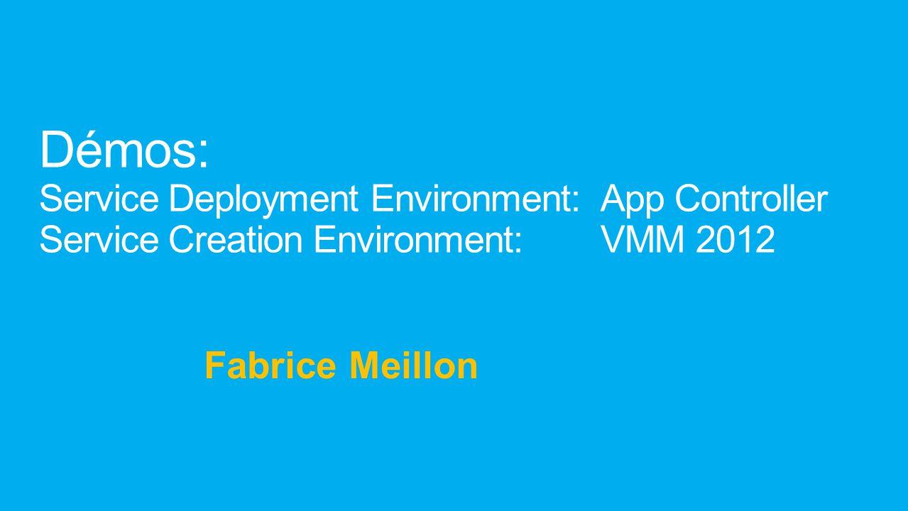 Démos: Service Deployment Environment: