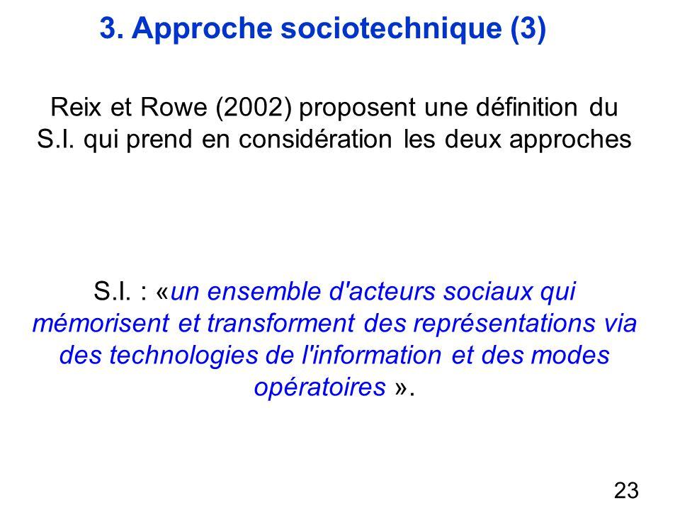 3. Approche sociotechnique (3)