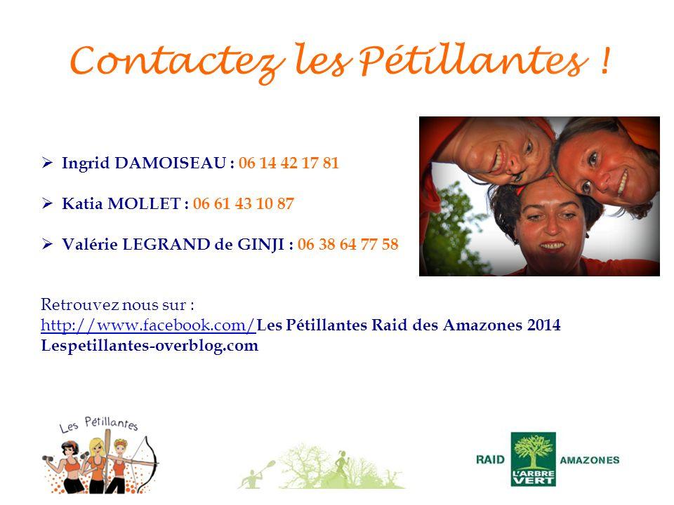 Contactez les Pétillantes !