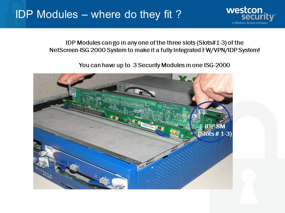 IDP Modules – where do they fit
