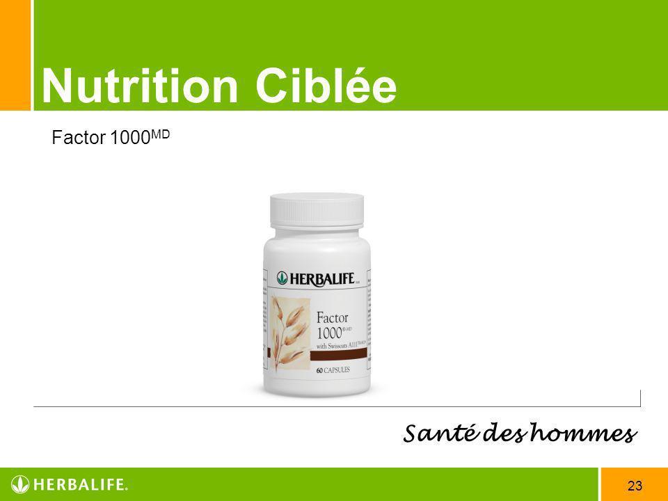 Nutrition Ciblée Santé des hommes Factor 1000MD