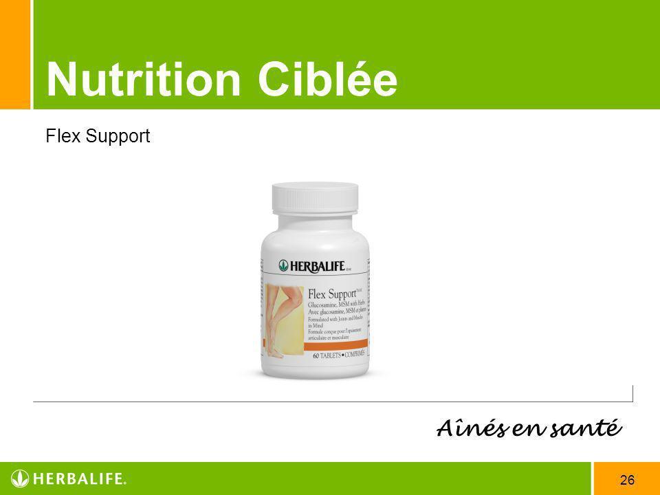 Nutrition Ciblée Flex Support Aînés en santé