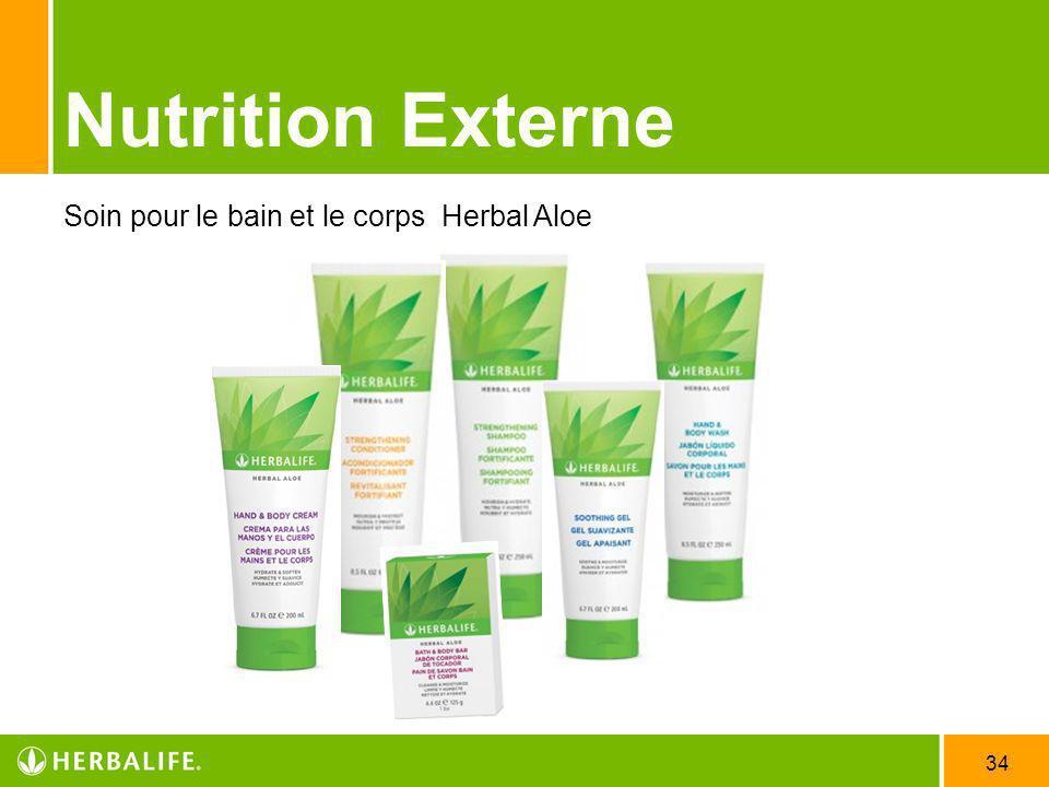 Nutrition Externe Soin pour le bain et le corps Herbal Aloe